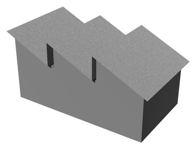 Pilová střecha vzniká opakováním střech pultových nebo asymetrických  sedlových  používala se historicky na rozlehlých továrních halách 177103e6ea
